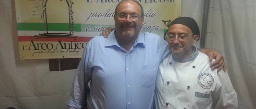 """Alessandro Melone di """"L'arco Antico"""" socio di Molise Gourmet"""