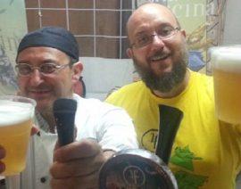 """Il nostro socio Angelo Scacco del birrificio """"La Fucina"""""""
