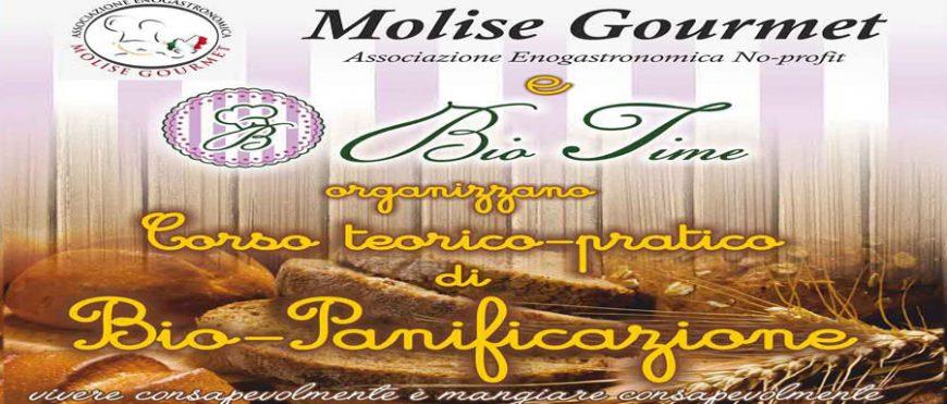 Corso di biopanificazione di Molise Gourmet e Bio Time