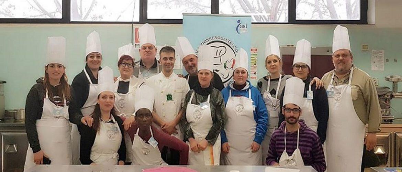Concluso il corso di cucina 2019