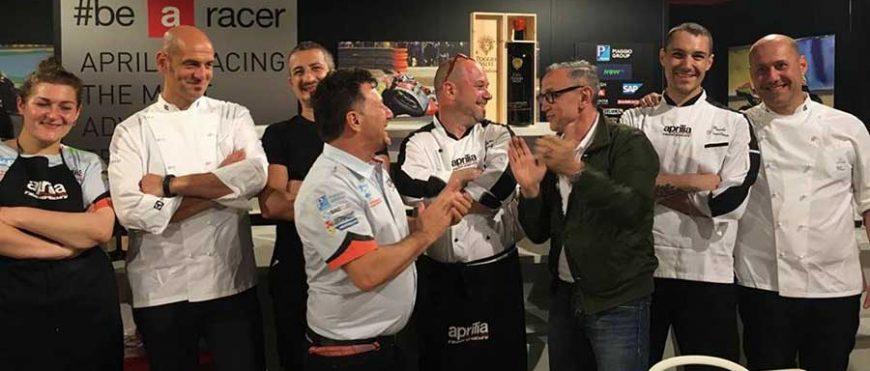 Terzo stage Aprilia Racing concluso
