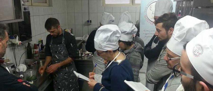 Corso di cucina regionale 2016, lezione 3