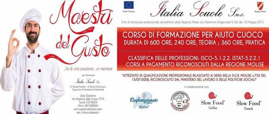 """Corso """"Maestri del Gusto"""""""
