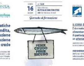 Molise Gourmet ha partecipato al corso sul pesce crudo