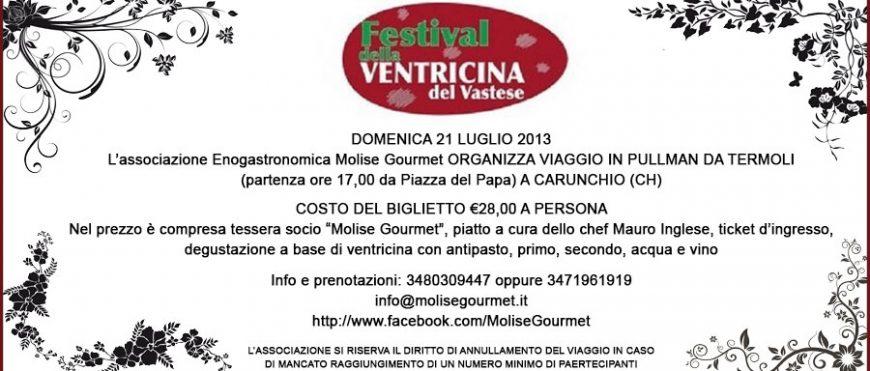 Festival della ventricina a carunchio