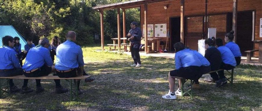 Il presidente incontra gli scout a Campomarino
