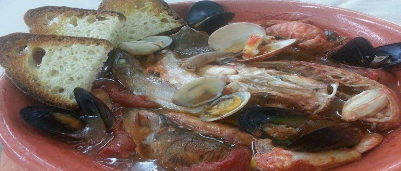 La schaffetta diventa una zuppa di pesce fantastica