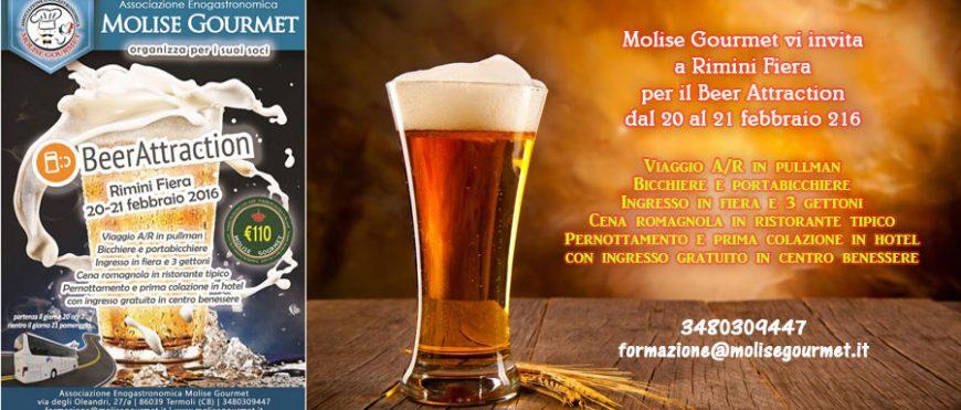 """Molise Gourmet vi porta a Rimini per il """"Beer Attraction"""""""
