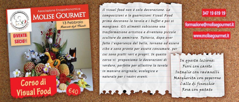 Corso di visual food, intaglio di vegetali