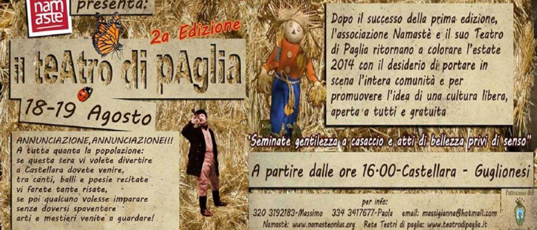 """Cooking show interattivo al """"teatro di paglia"""" di Guglionesi"""