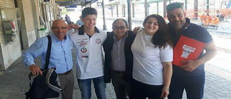 Selene e Paolo curano il team Aprilia Racing