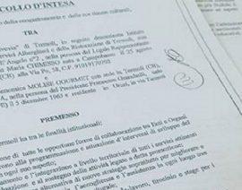 """Rinnovato il protocollo di intesa con il """"Federico di Svevia"""""""