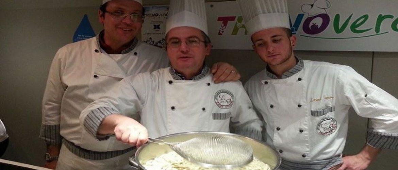 Showcooking degli chef di Molise Gourmet sul treno verde
