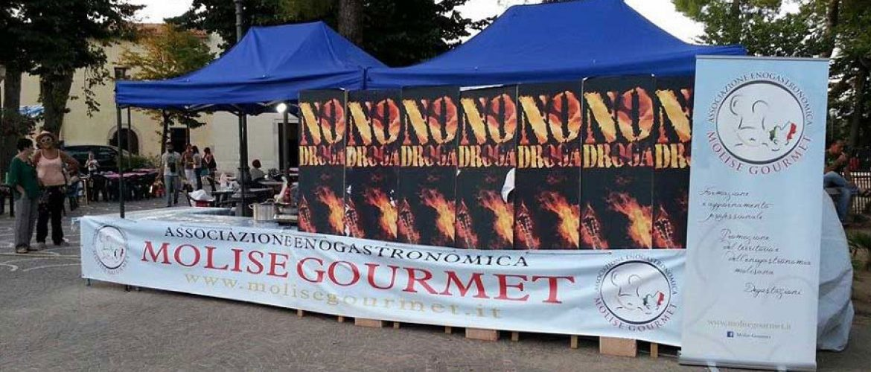 I piatti di Molise Gourmet al teatro di paglia di guglionesi